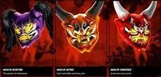 the three oni masks ninjagosonsofgarmadon lego ninjago