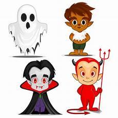personagens de desenhos animados assustador de
