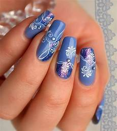 Bird Design On Nails 30 Amazing Rhinestone Nail Art Designs 187 Ecstasycoffee