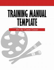 Training Manual Templates For Word 5 Free Training Manual Templates Excel Pdf Formats