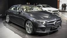 mercedes 2019 cls mercedes reveals the 2019 cls with an inline six engine at