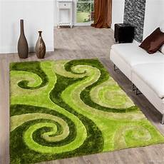 Lime Green Design Allstar Green Shaggy Area Rug With 3d Lime Green Spiral
