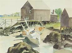 Cape Porpoise Tide Chart Low Tide Cape Porpoise Maine 1977 Rollin Pickford