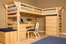 graduate lindy loft beds left facing at gardner white