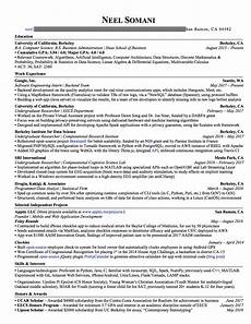 Resume Reading Software How To Craft A Winning Resume Amp Land An Offer From Google