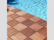 Le Click Interlocking Floor Tiles  Teak Wood   Classic in Outdoor Flooring   Outdoor wood