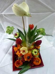 fiori vaso silvi s kitchen scultura di frutta vaso di fiori come