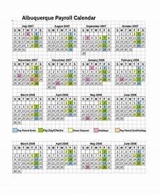 2020 Payroll Calendar Template Free 9 Sample Payroll Calendar Templates In Pdf Excel