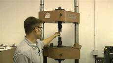 Tensile Test Hobart Brothers Company Weld Tensile Test Overview Youtube