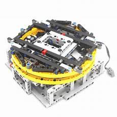 Design Technic Building Block Moc Technic Motorised Display Turntable
