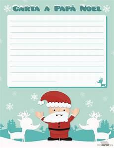 Cartas Para Papa Noel Carta De Pap 225 Noel Para Imprimir