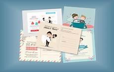 contoh undangan pernikahan unik dan murah menarik