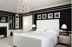 Black Walls In Bedroom Glamorous Bedrooms For Some Weekend Eye
