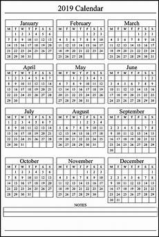 Printable 12 Month Calendar On One Page Free Yearly 12 Month Calendar One Page Template Printable