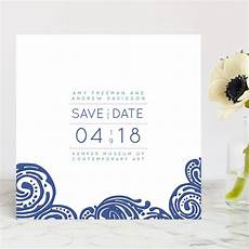 Save The Date Card Design Contemporary Chic Save The Date Cards By Guess What Design