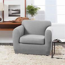 Surefit Sofa Slipcovers Leather 3d Image by Ultimate Stretch Leather Chair Slipcover Form Fit