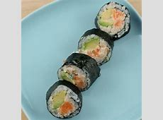 Spicy Salmon Roll with Avocado   Recipe   Spicy salmon