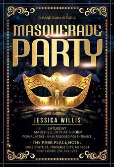 Masquerade Invitation Masquerade Party Invitation Announce It