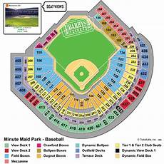 Minute Seating Chart View Minute Park Tickets Seating Chart Event Schedule