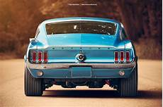 1967 ford mustang fastback rear by americanmuscle on
