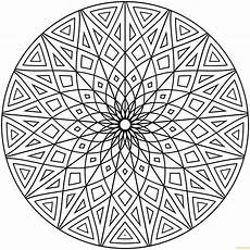 Coloring Geometric Pages Geometric Designs Coloring Page Free Coloring Pages