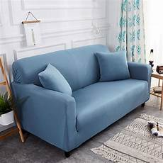 modern solid color stretch slipcover throw elastic sofa