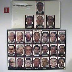 Fbi Mafia Chart John Gotti Funeral Card The Gambino Crime Family Boss