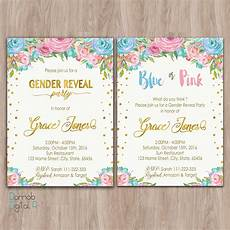 Free Printable Gender Reveal Invitations Gender Reveal Invitation Printable Gender Reveal Invites
