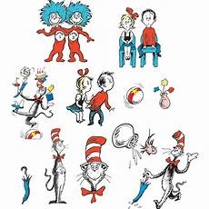 The Cat And The Hat Cat In The Hat Characters 2 Sided Decorating Kit Eu