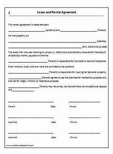 Free House Rental Lease House Lease Agreement Template Lease Agreement Template