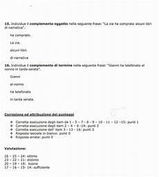 prove d ingresso 1 media prova di verifica di italiano scuola primaria verifica di