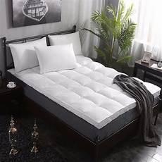giantex 4 quot size mattress topper hypoallergenic
