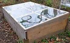 hometalk from raised bed to cold frame in minutes