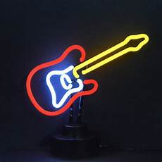Neon Light Guitar Neonetics Electric Guitar Neon Sculpture Amp Reviews Wayfair