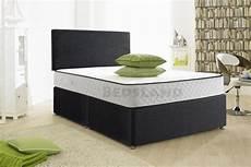 modern chenille divan beds with headboard mattress