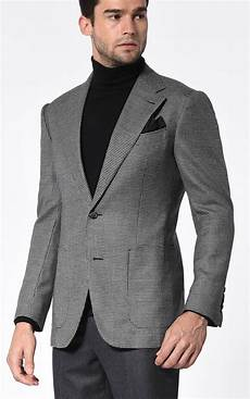 coats and blazers for grey houndstooth signature bespoke sport coat