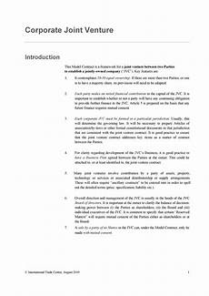 Joint Venture Contract 53 Simple Joint Venture Agreement Templates Pdf Doc ᐅ