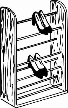 onlinelabels clip shoe rack