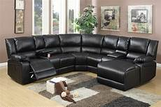 Black Sectional Sofa 3d Image by 5 Pcs Reclining Sectional Brown Leather Sofa Set