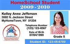 student i card template make id cards id card printers home school templates