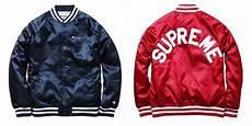 supreme jacket supreme x chion satin jacket highsnobiety