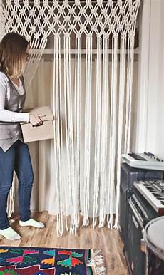 macrame curtain make your own macrame curtain a beautiful mess