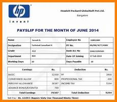 Salary Slip Format India Sale Sheet Example Template Business