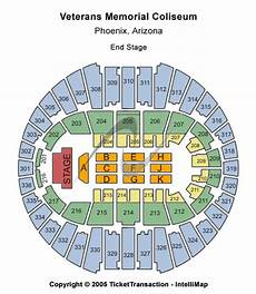 Veterans Memorial Seating Chart Phoenix Concert Tickets Seating Chart Veterans