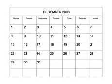 Printable Editable Calendars Editable 2008 Blank Calendar