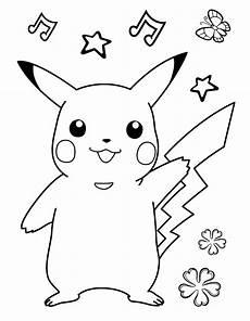 Ausmalbilder Pikachu Kostenlos Quajutsu 1ausmalbilder