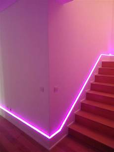Neon Light Strips For Room 23 Stunning Ways To Add Color To Your Walls Aesthetic
