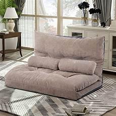 merax floor sofa bed adjustable sleeper bed sofa