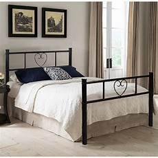 aingoo bed frame 4ft 6 metal platform beds with