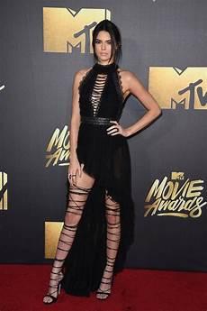 kendall jenner s dress at mtv awards 2016 popsugar